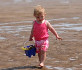 Toddler on Holiday